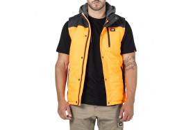 Hi Vis Hooded Work Vest