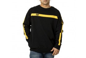 Icon Stripe Crew Sweatshirt