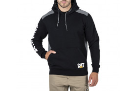 Logo Panel Hooded Sweat