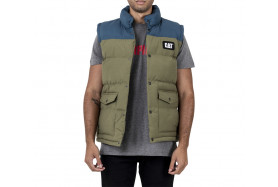 TWO TONE SYNTHETIC VEST