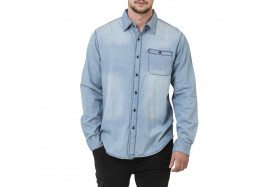 COLFAX DENIM LONG SLEEVE SHIRT