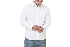 MINIMAL OXFORD LONG SLEEVE SHIRT