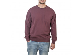 CASUAL POCKET CREW SWEATSHIRT