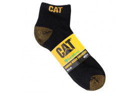 5 PACK BAMBOO ANKLE SOCK BLK L